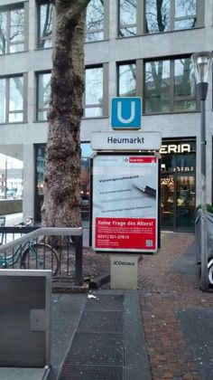 Estação de Metrô/ Colônia - Alemanha/DE 01/2017