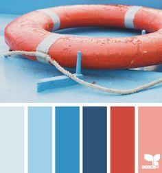 nautical color palette - Google Search