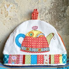 #patchwork #tea cozy #applique