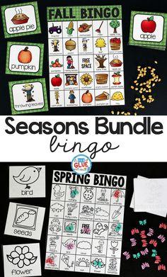 Seasons Bundle Bingo