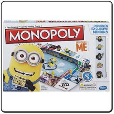 DESPICABLE ME MONOPOLY Listing in the Monopoly,Board Games,Games,Toys & Hobbies Category on eBid United Kingdom | 144716289
