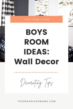 Looking for boys room ideas? Well I am sharing how we refreshed my son's room to add wall decor that is easy to change. Kids Bedroom Organization, Small Space Organization, Playroom Organization, Organizing, Small Playroom, Kid Closet, Inspiration For Kids, Decluttering, Boy Room