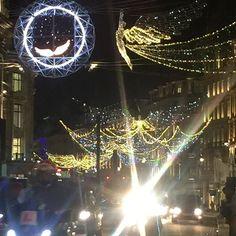Love and light London #Oxford street #nofearinlove #sholasays
