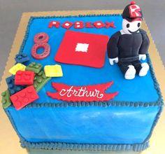 Lego Roblox cake