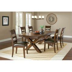 Hillsdale Furniture Park Avenue 7 Piece Dining Set