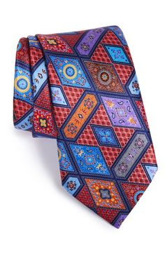 Ermenegildo Zegna 'Quindici' Paisley Print Silk Tie