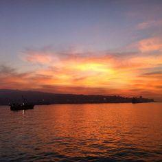 #Valparaíso #atardecer #Chile Mayo 2014 Iphone camera