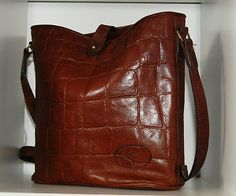 Stunning congo leather vintage Mulberry bag.