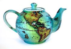 this global teapot is a cherished treasure of mine