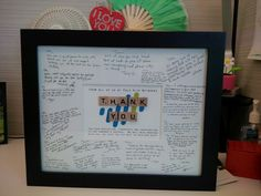 Goodbye gift for office colleague