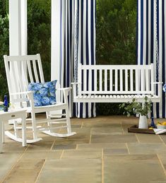 Soft, flowing fabric brings indoor style to any outdoor space. Treated to resist water, mildew and fading. Curtains offer UPF protection, blocking out up to of UV rays. Outdoor Curtains, Outdoor Umbrella, Outdoor Decor, Porch Shades, Shade Umbrellas, Outdoor Shade, Stainless Steel Plate, Striped Curtains, Market Umbrella