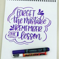 "85 Likes, 2 Comments - DawnT (@cre8tivesun) on Instagram: ""Mistakes are how we learn! #letteritjuly @jennyhighsmith . @crayola #crayolamarkers…"""