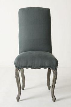 "Anthropologie Clarissa Dining Chair  44""H, 20""W, 20""D  Seat: 21""H"