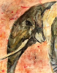Story Behind the Painting: This watercolor elephant is a graduation present for…