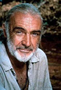 """Sean Connery: Is best known for portraying the James Bond character. He starred in 7 Bond films between 1962 & In 1988 Connery won the Academy Award for Best Supporting Actor for his role in """"The Untouchables. Photo Portrait, Portrait Photography, Hollywood Stars, Classic Hollywood, Cinema Tv, Sean Connery, Interesting Faces, Good Looking Men, Famous Faces"""