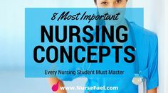 8 Most Important Nursing Concepts - http://www.NurseFuel.com