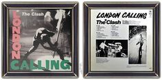 ♫ The Clash - London Calling (1979). Cover: Pennie Smith. Cover story on CAA-site. http://www.selected4u.net/caa/theclash/londoncalling/play.html