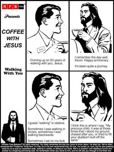 Coffee With Jesus, Matthew 6, Memes, Movie Posters, Fictional Characters, Art, Clearance Sale, Father, Closet