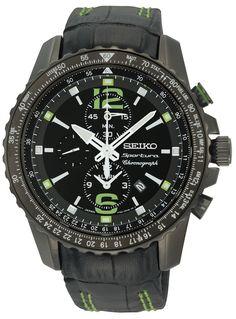 Reloj Seiko Sportura cronografo, con taquimetro