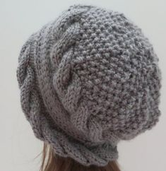 Hat Pattern Knitting Pattern PDF 155 Knitting by WomanOnTheWater