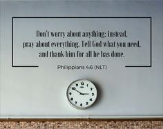 Give your worries to God! Philippians 4 6, Biblical Inspiration, No Worries, Pray, Encouragement, Bible, God, Quotes, Inspiration
