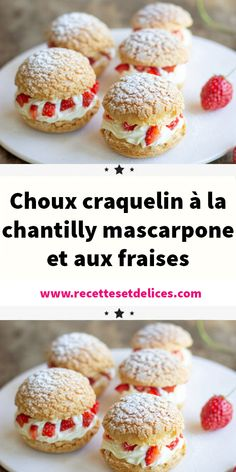 Craquelin au Thermomix - New ideas Thermomix Desserts, Gluten Free Desserts, Easy Desserts, Dessert Recipes, Desserts Fruits, Quick Dessert, Raspberry Recipes, Almond Recipes, Gourmet Recipes