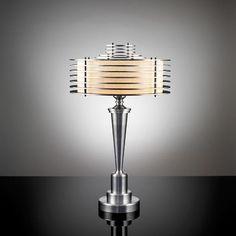 One of Walter von Nessen's Art Deco Machine Age table lamps. - See more at: http://globallightingblog.com/trailblazing-industrial-designer-walter-von-nessen/#sthash.3wpupUeD.dpuf