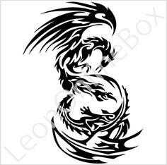 Tribal Phoenix Tattoos For Men | cool tattoos designs japanese tribal tattoo designs star tattoo ...