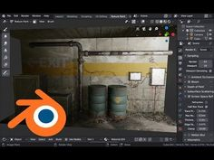 (206) Texture Painting with Mask Tools in Blender - YouTube