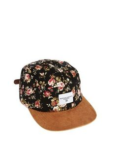 8669e84c7fc Profound Aesthetic Floral Snapback Cap Online Shopping Clothes