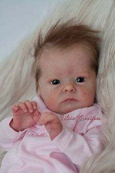 This Custom Made Reborn Baby. Images Not mine. Tink by Bonnie is just one of the custom, handmade pieces you'll find in our reborn dolls shops. Bb Reborn, Reborn Toddler Dolls, Reborn Doll Kits, Silicone Reborn Babies, Silicone Baby Dolls, Newborn Baby Dolls, Silikon Baby, Baby Bouncer, Realistic Baby Dolls