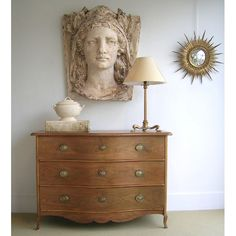 Antique plaster head, Tone on Tone - Art Curator & Art Adviser. I am targeting the most exceptional art! See Catalog @ http://www.BusaccaGallery.com