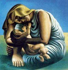 """Almada Negreiros - """"Maternidade"""" (1935)"""