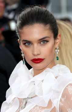 Sara Sampaio #sarasampaio #face #makeup
