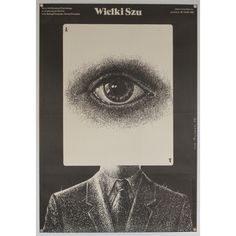 Wielki Szu - original Polish film poster Designer: Lech Majewski Genre: Action Drama Origin of poster: Polish Year: 1983