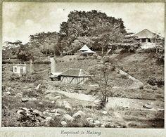 Hosputaal te Malang circa 1900.