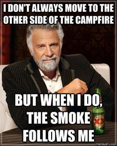 So it's not just me!  I might be in contention for the most interesting man in the world.  Except that no one has approached me about capturing the scent of my morning  breath!  :-(