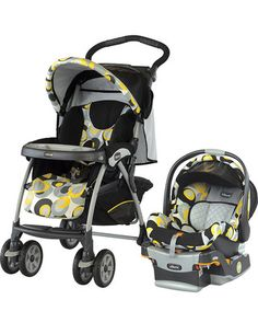 Get fit in 2014 with a runway-ready stroller/car-seat combo that will keep you moving -- and looking good all the while. Click above to buy it.
