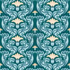 ideas wall paper art nouveau style for 2019 Art Deco Wallpaper, Forest Wallpaper, Desktop Wallpaper Summer, Art Nouveau, Patterned Paint Rollers, Texture Photography, Motif Floral, Floral Patterns, Diy Wall Art