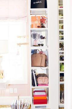 Step Inside a Design Blogger's Chic Office Closet