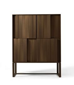 Giorgetti Origami Low Cabinet, Cabinet Drawers, Cabinet Furniture, Cupboard, Copper Paint, Home Bar Designs, External Doors, Minimalist Interior, Furniture Inspiration