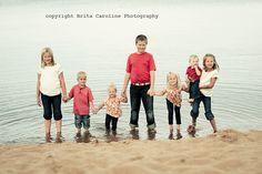 siblings in water
