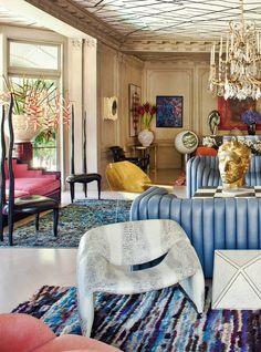 Vogue Living, design by Kelly Weartsler