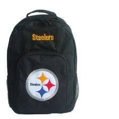 NFL Pittsburgh Steelers Southpaw Backpack, Black by Concept 1. $19.99