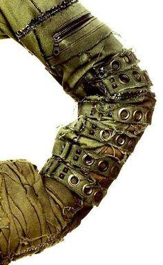 sekigan:  post apocalyptic jacket sleeve | Dystopia Rising | Pinterest