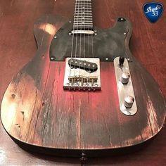 What do you think of this custom #Telecaster from @black35guitars? #cool #guitar #customguitar #studio33guitar