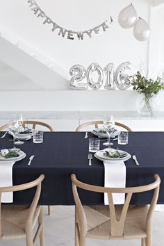 Table setting New Year´s Eve (Stylizimo blog)