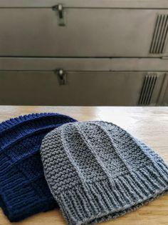Beanie Knitting Patterns Free, Beanie Pattern Free, Free Knitting, Hat Patterns, Knitting Hats, Free Pattern, Mens Knit Beanie, Knit Hat For Men, Slouchy Beanie