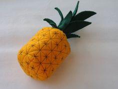 detailed felt pineapple