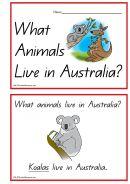 Australian Animals Concept Book - K-3 Teacher Resources